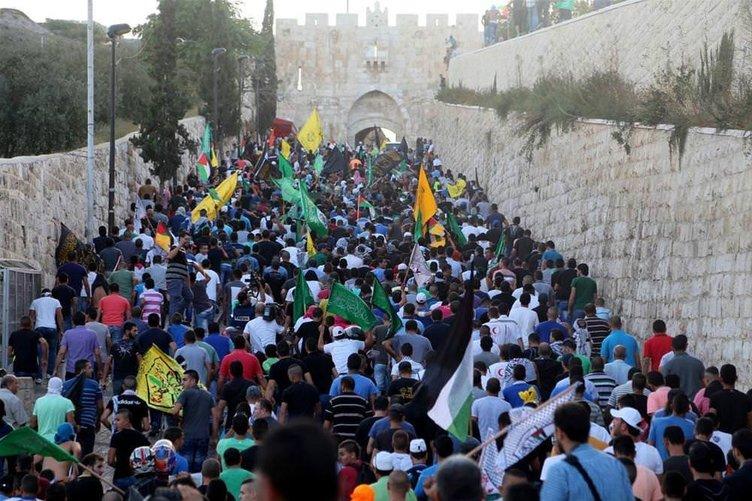 Kudüs'te öfke dinmiyor