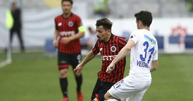 Gençlerbirliği Kasımpaşa'yı tek golle yendi