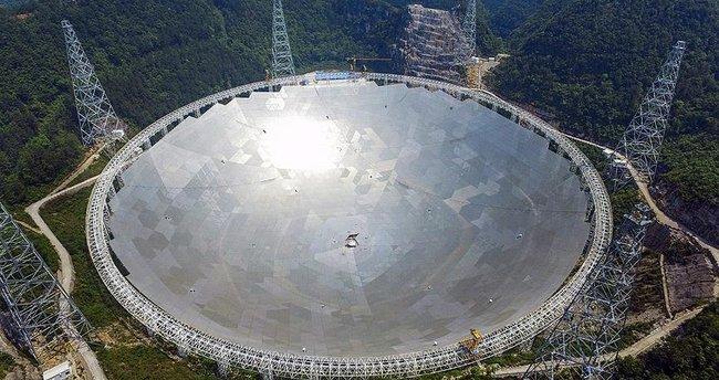 Dünyanın en büyük radyo teleskobu faaliyete geçti!