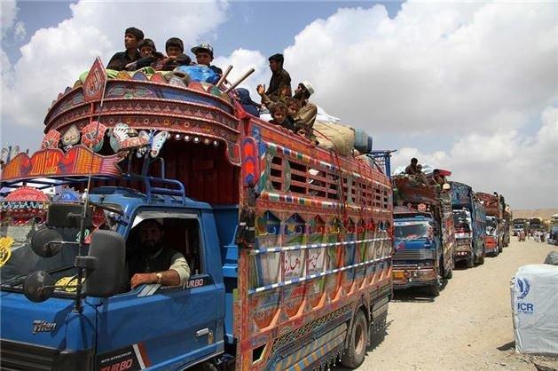Afgan mülteciler ülkelerine geri döndü
