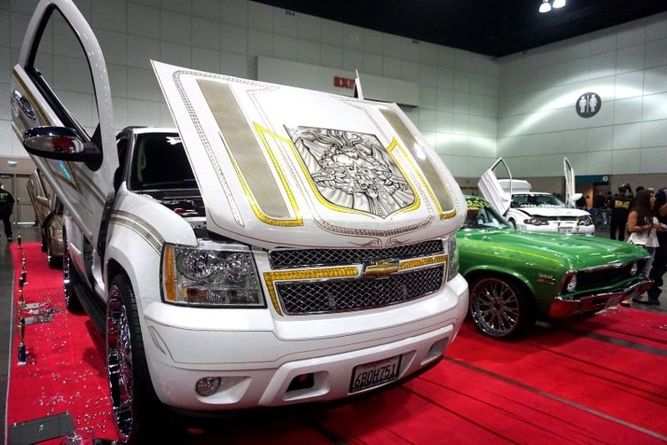 Modifiye araç fuarı ''DUB Show'' başladı