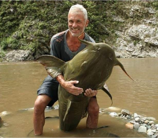 Bu korkunç balıklar nehirlerde yaşıyor!