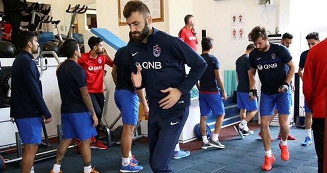 Trabzonspor salonda çalıştı