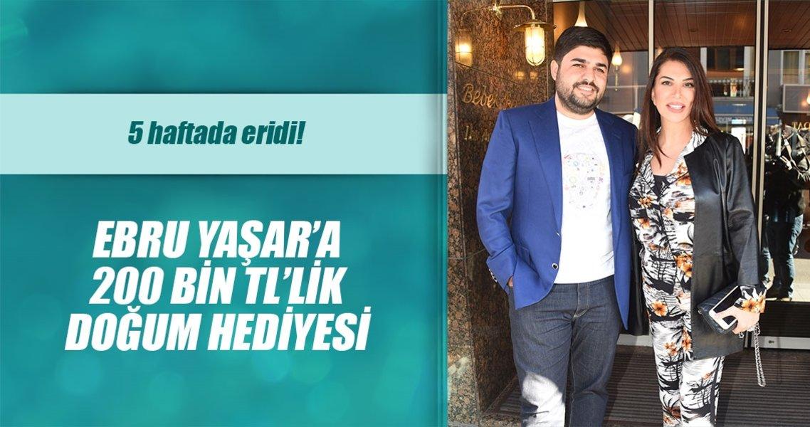 Ebru Yaşar'a eşinden 200 bin TL'lik yüzük