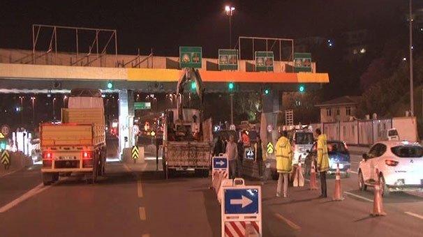 15 Temmuz Şehitler Köprüsü'nde gişeler kalkıyor