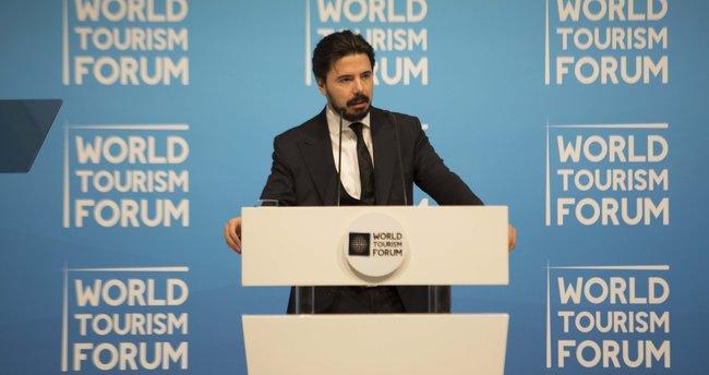 """Turizmin Davos'u """"World Tourism Forum"""" açıldı"""