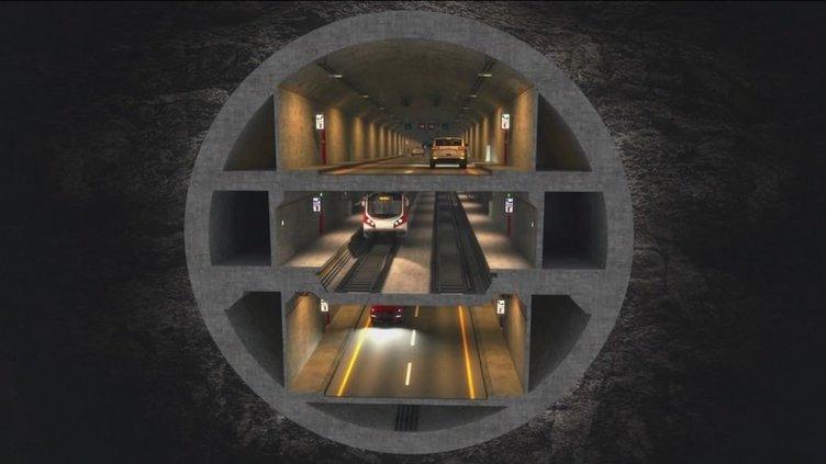 3 Katlı Büyük İstanbul Tüneli Projesi için 3 firmaya davet