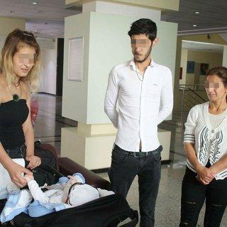 Çocukları bağımlı doğan çift, hastaneden kaçtı