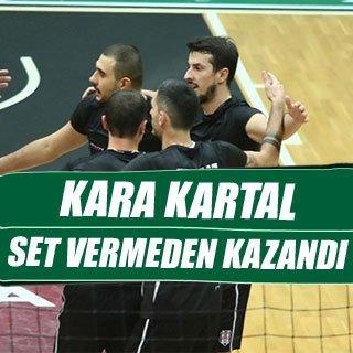 Beşiktaş, Akatlar'da set vermeden kazandı