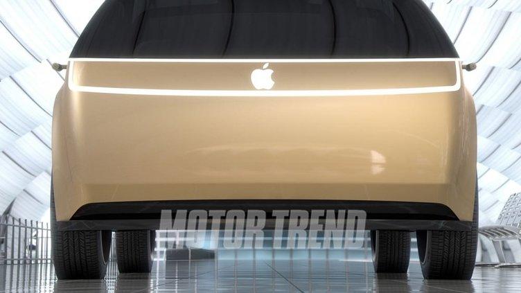 Apple otomobilinden detaylar sızdı
