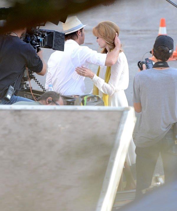 Angelina Jolie sarışın oldu