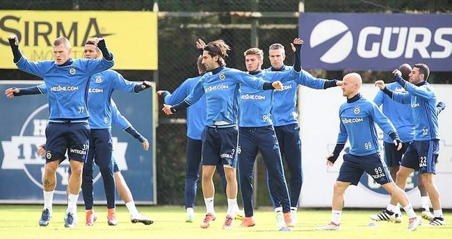 Fenerbahçe, İngiltere'ye gitti