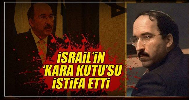 İsrail'in 'kara kutu'su istifa etti