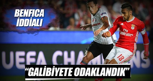 Benfica cephesi umutlu
