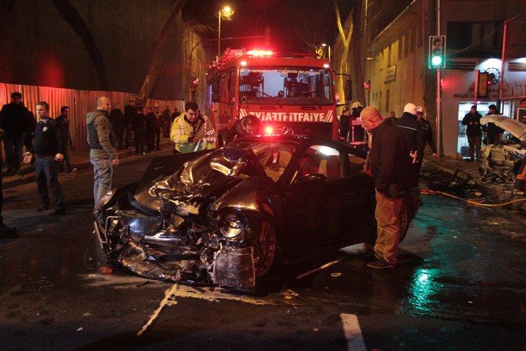 Beşiktaş'ta feci kaza: 1 polis şehit oldu