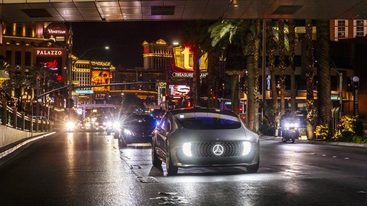 Mercedes'in çılgın konsept otomobili