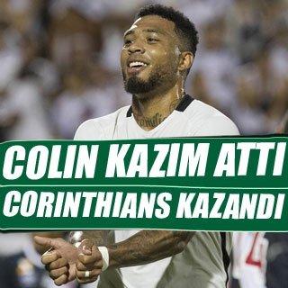 Colin Kazım, Corinthians'ta golle başladı