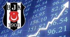 Beşiktaş borsada da uçtu!