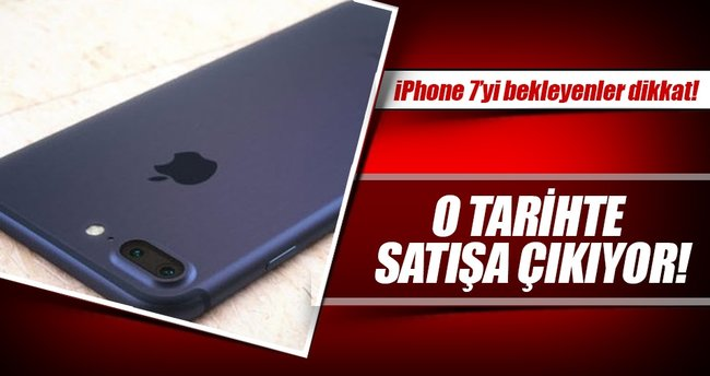 iPhone 7 ve iPhone 7 Plus 14 Ekim'de Türkiye'de!