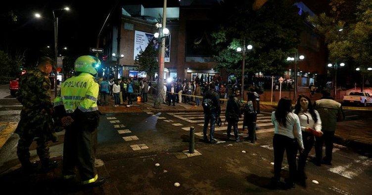 Kolombiya'da alışveriş merkezinde patlama