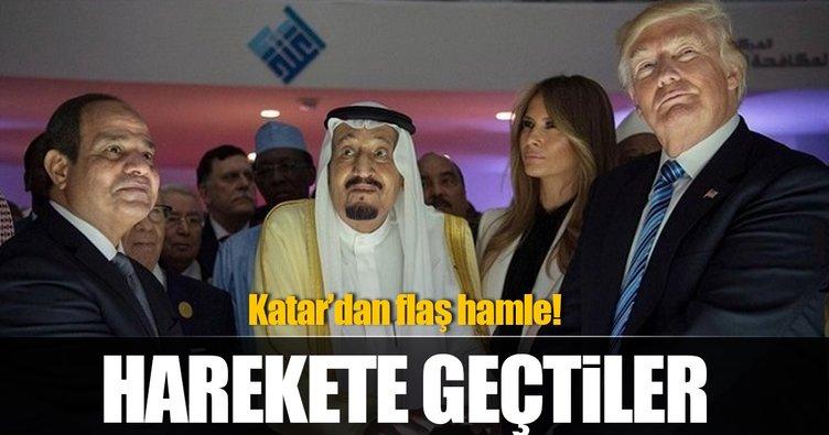 Katar harekete geçti!