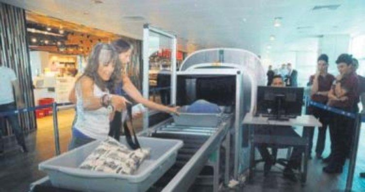 ABD uçuşlarında tomografi çekiliyor