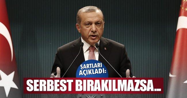 Erdoğan: Mısır işbirliği istiyorsa...