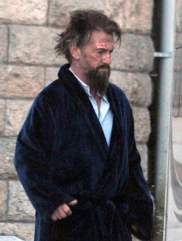 Sean Penn'in setten kareleri