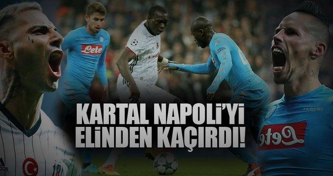 Kartal, Napoli'yi elinden kaçırdı!