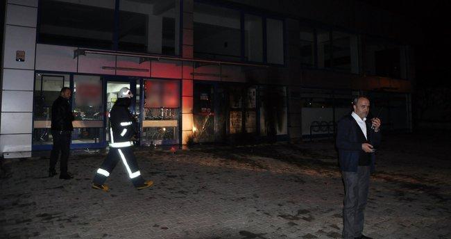 Antalya'da markete molotoflu ve pompalı tüfekli saldırı!