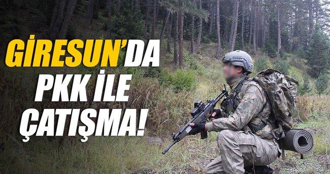 Giresun'da PKK ile çatışma
