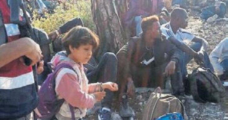 Dikili açıklarında 67 göçmen yakalandı