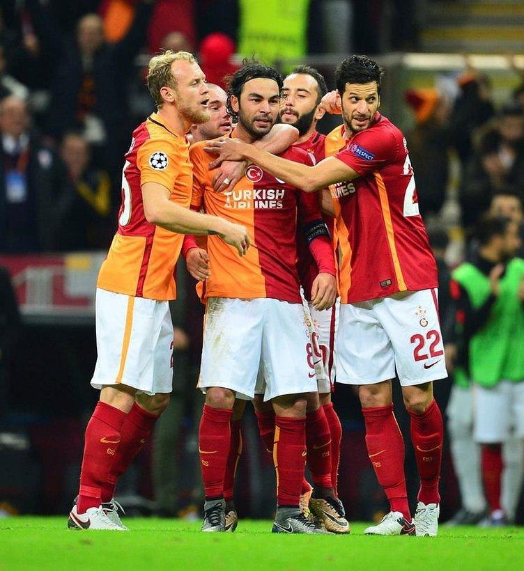 Galatasaraylı yıldız UEFA Şampiyonlar Ligi'nde haftanın 11'inde!