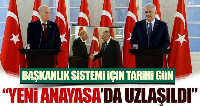 Son dakika haberi: AK Parti-MHP Yeni Anayasa için uzlaştı