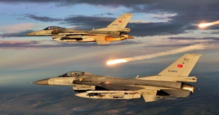 TSK, Kuzey Irak'ta hainlere bomba yağdırdı