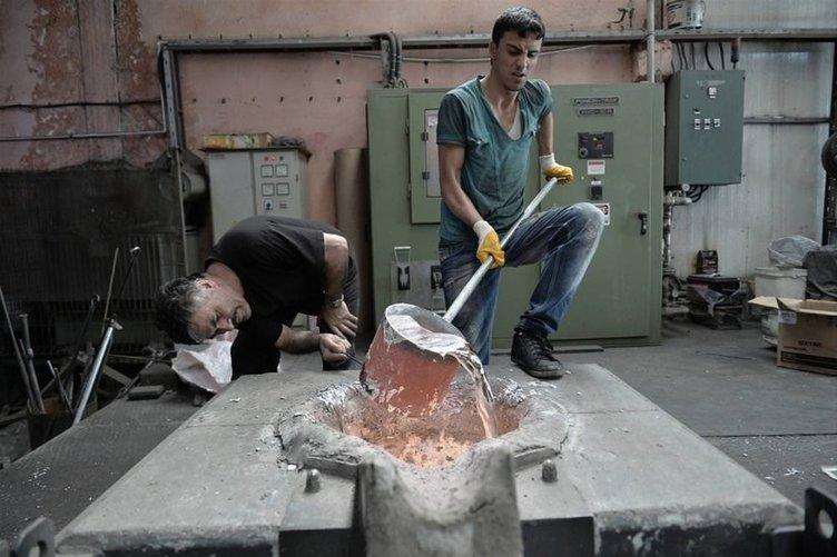 Çalışanların sıcakla imtihanı