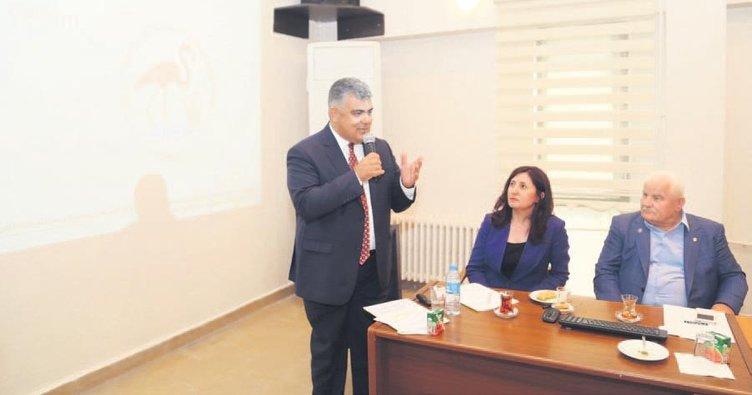 Ereğli Belediyesi'nden Akgöl Projesi'ne destek