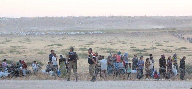IŞİD korkusu mayınlı araziye soktu