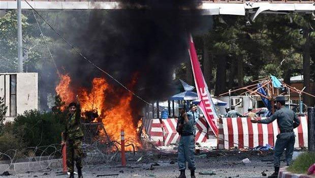 Kabil Havalimanı'nda büyük patlama