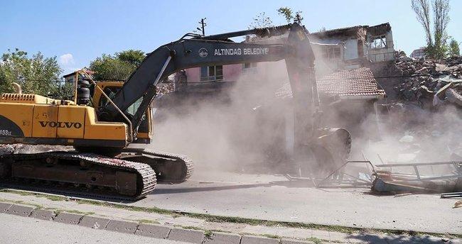 Ankara'da yıkım gerginliği: 2 yaralı