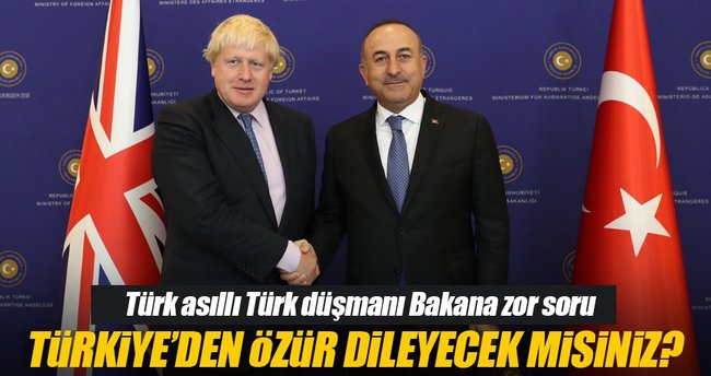 Boris Johnson'a zor soru