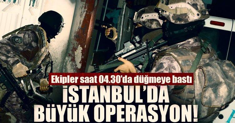 Son dakika: İstanbul'da hava destekli büyük operasyon