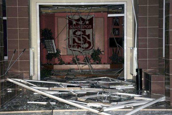 Sivasspor Tesisleri'nde patlama