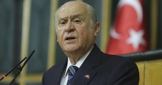 MHP Lideri Bahçeli'den flaş açıklama