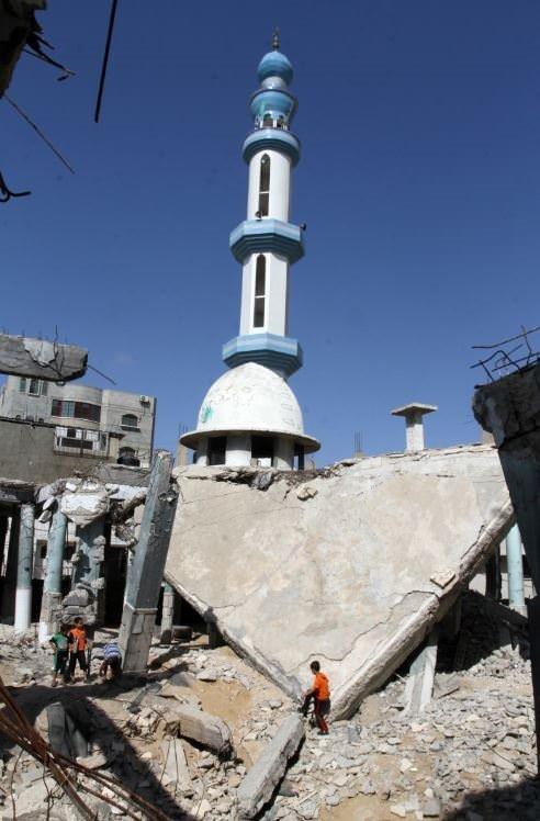 Gazze harabeye döndü
