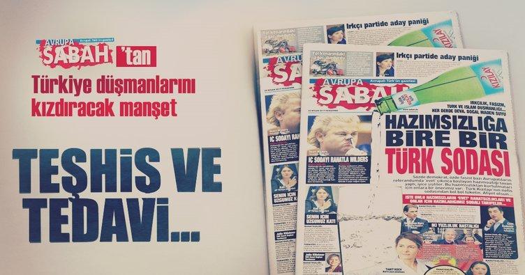 Türkiye hazımsızlığına bire bir Türk sodası