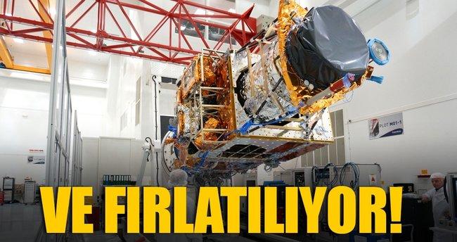 Göktürk-1 fırlatma için gün sayıyor