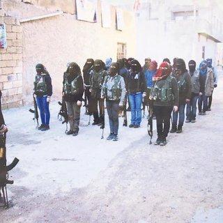 Halep'te terör akademisi