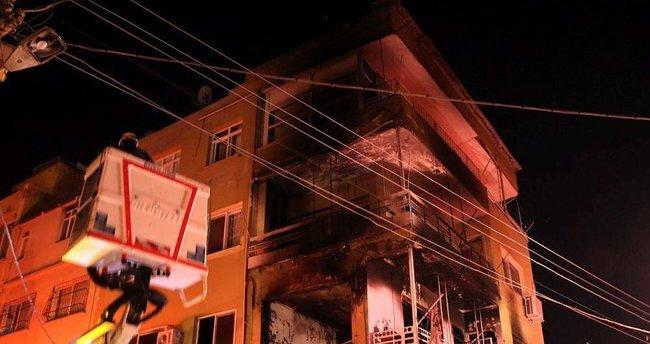 Hatay'da ev yangını