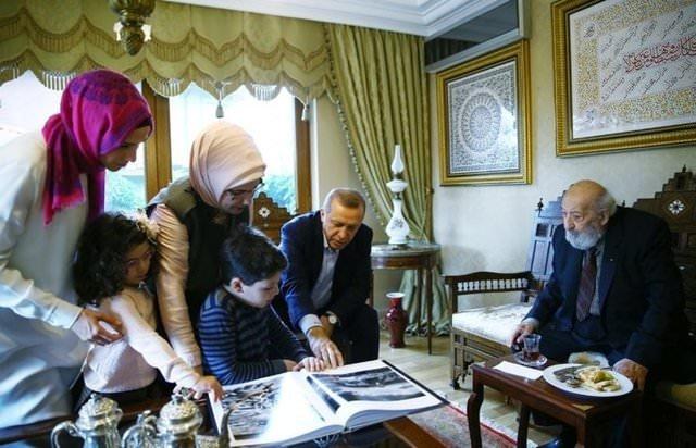 Ara Güler'in objektifinden Erdoğan